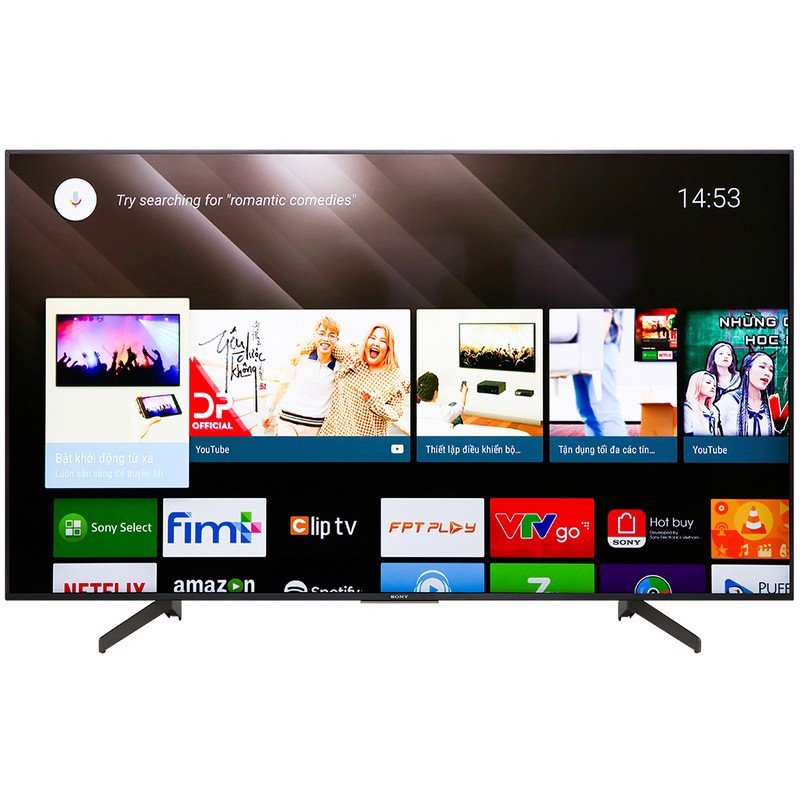 Android Tivi Sony 4K 65 inch KD-65X8500G Mẫu 2019