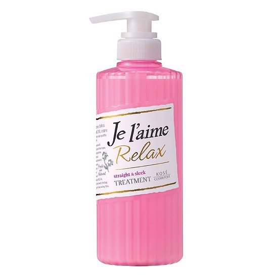 DẦU DƯỠNG TÓC KOSÉ COSMEPORT JE L'AIME RELAX TREATMENT STRAIGHT & SLEEK