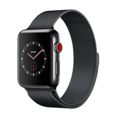 Apple Watch Series 3 38mm Bản Thép (LTE + GPS)