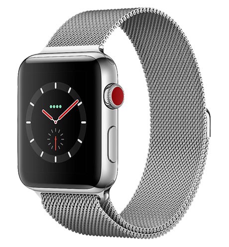 Apple Watch Series 3 42mm Bản Thép (LTE + GPS)