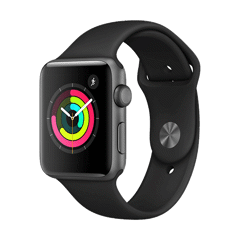 Apple Watch Series 3 42mm Space Gray Aluminum Case (GPS) Gray Sport Band - MR362 (New 99%)