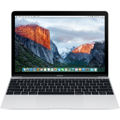 Apple Macbook 12 inch 256GB - Silver (MNYH2) 2017
