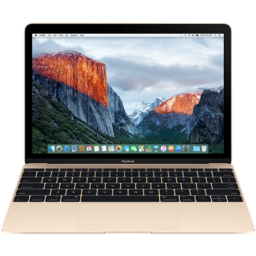 Apple Macbook 12 inch 512GB - Gold (MLHF2) 2016