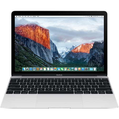 Apple Macbook 12 inch 512GB - Sliver (MLHC2) 2016