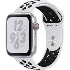 Apple Watch Series 4 40mm Silver Aluminum Case with Pure Platinum/Black Nike Sport Band (GPS) MU6H2