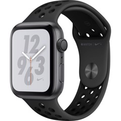 Apple Watch Series 4 44mm Space Gray Aluminum Case with Anthracite/Black Nike Sport Band (GPS) MU6L2