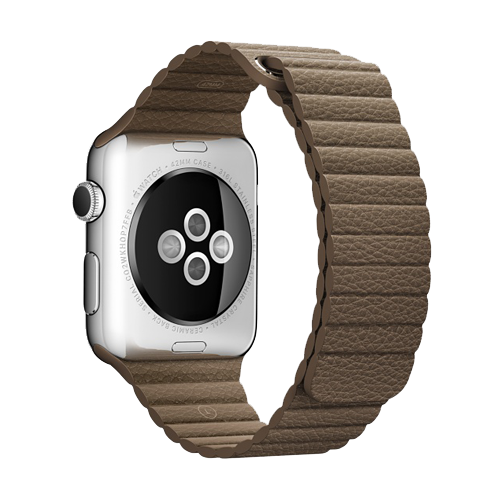Dây Apple Watch 42mm Light Brown Leather Loop (Chính hãng)
