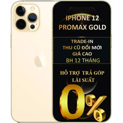 IPHONE 12 PROMAX (GOLD)