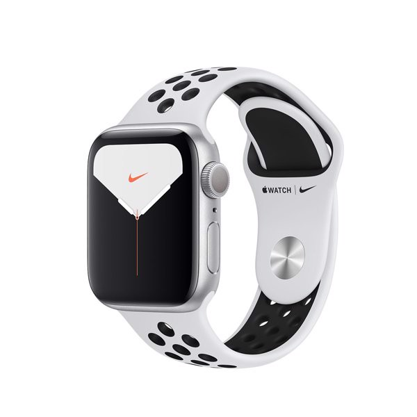 Apple Watch Nike Series 5 44mm Silver Aluminium Case With Nike Sport Band (GPS) - MX3V2
