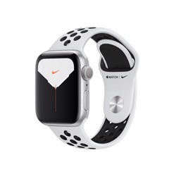 Apple Watch Nike Series 5 40mm Silver Aluminium Case With Nike Sport Band (GPS) -