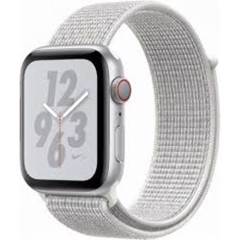 Apple Watch Series 4 40mm Silver Aluminum Case With Summit White Nike Sport Loop (GPS) MU7F2