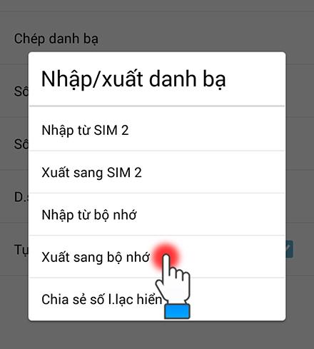 Chuyển danh bạ từ Android sang iPhone