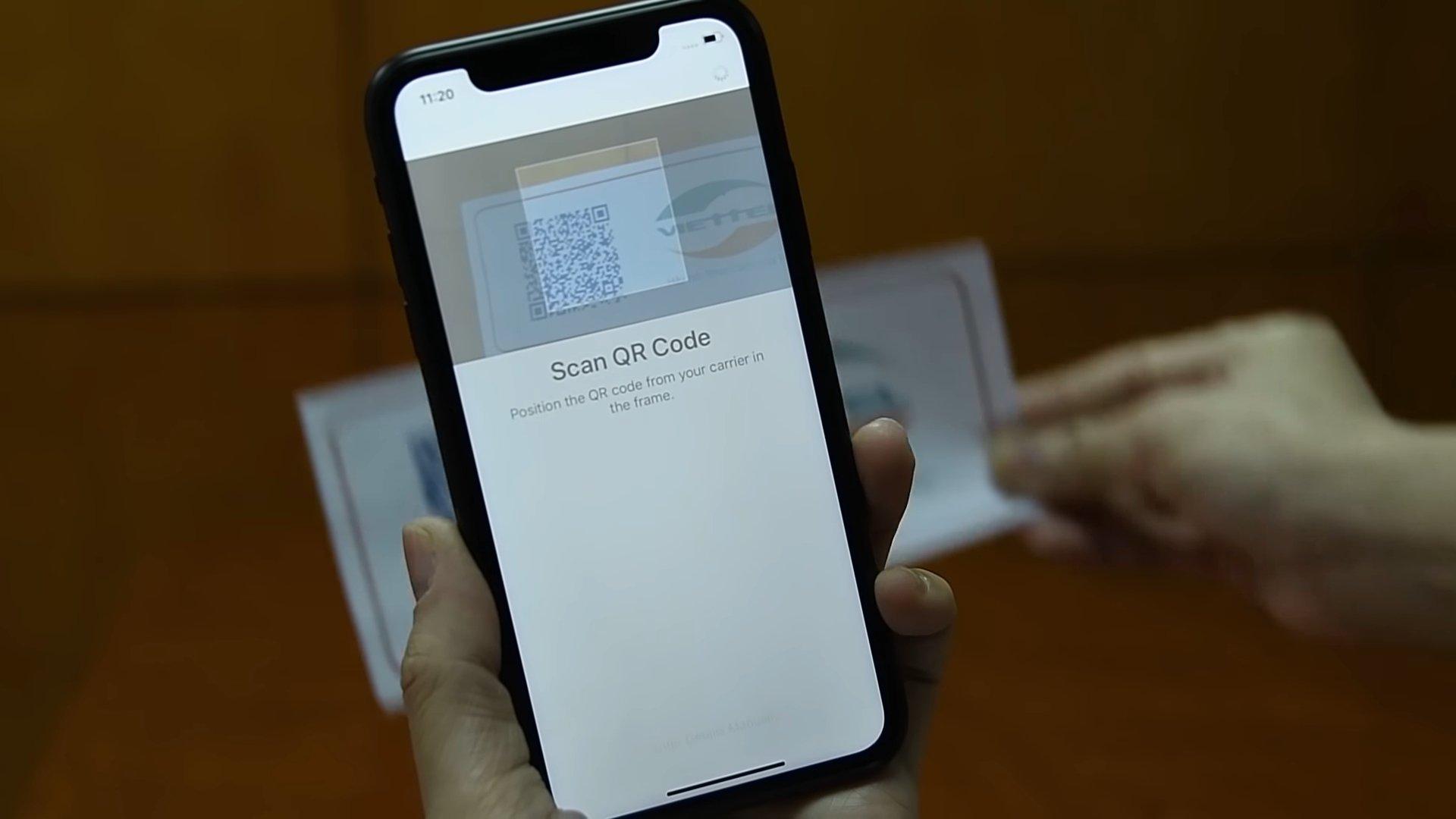 Hướng dẫn kích hoạt eSIM Viettel cho iPhone