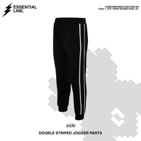 Double Striped Jogger Pants