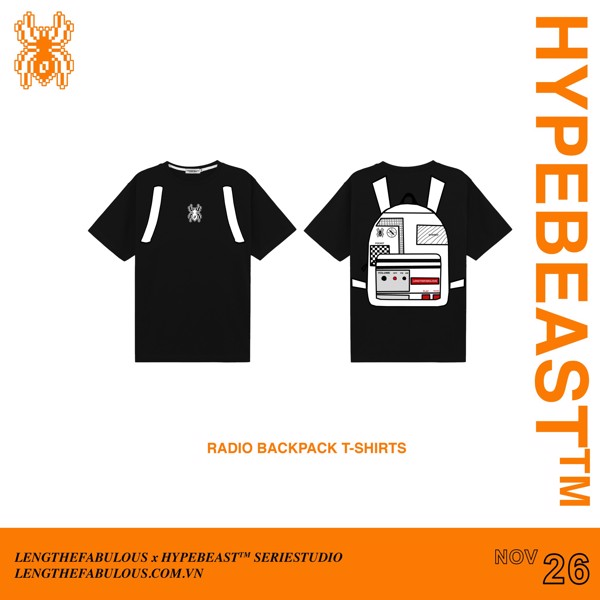 RADIO BACKPACK TEE