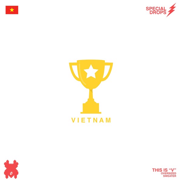THIS IS V SWEATER - VIETNAM CHAMPION