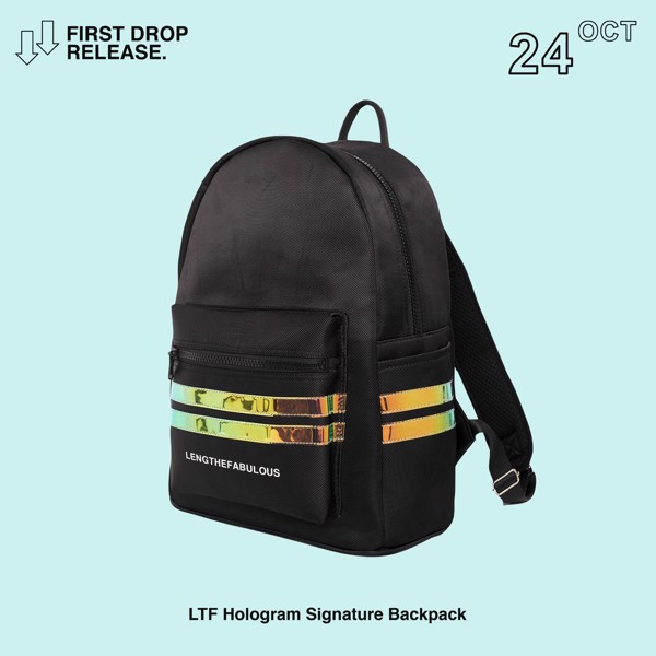 A - HOLOGRAM SIGNATURE BACKPACK