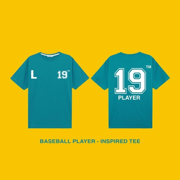 BASEBALL PLAYER - INSPIRED TEE