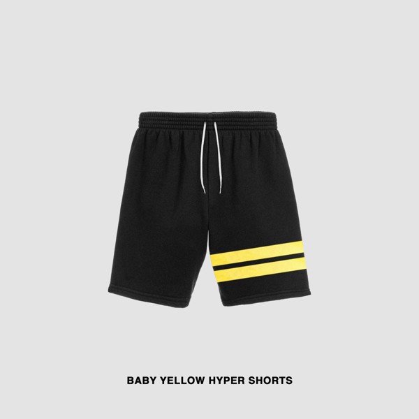 BABY YELLOW HYPER SHORTS