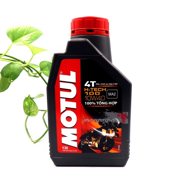 Nhớt Motul H-Tech 100 4T 10W40 - 100% Synthetic 1L/1L1/1L3