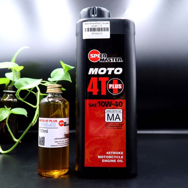 Nhớt Speed Master Moto 4T Plus 10W40 1L/1L1/1L3