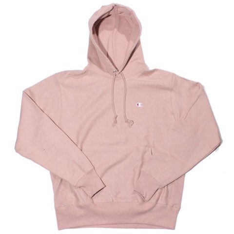 P100160 CHAMPION REVERSE WEAVE PULLOVER HOODIE - ROSE