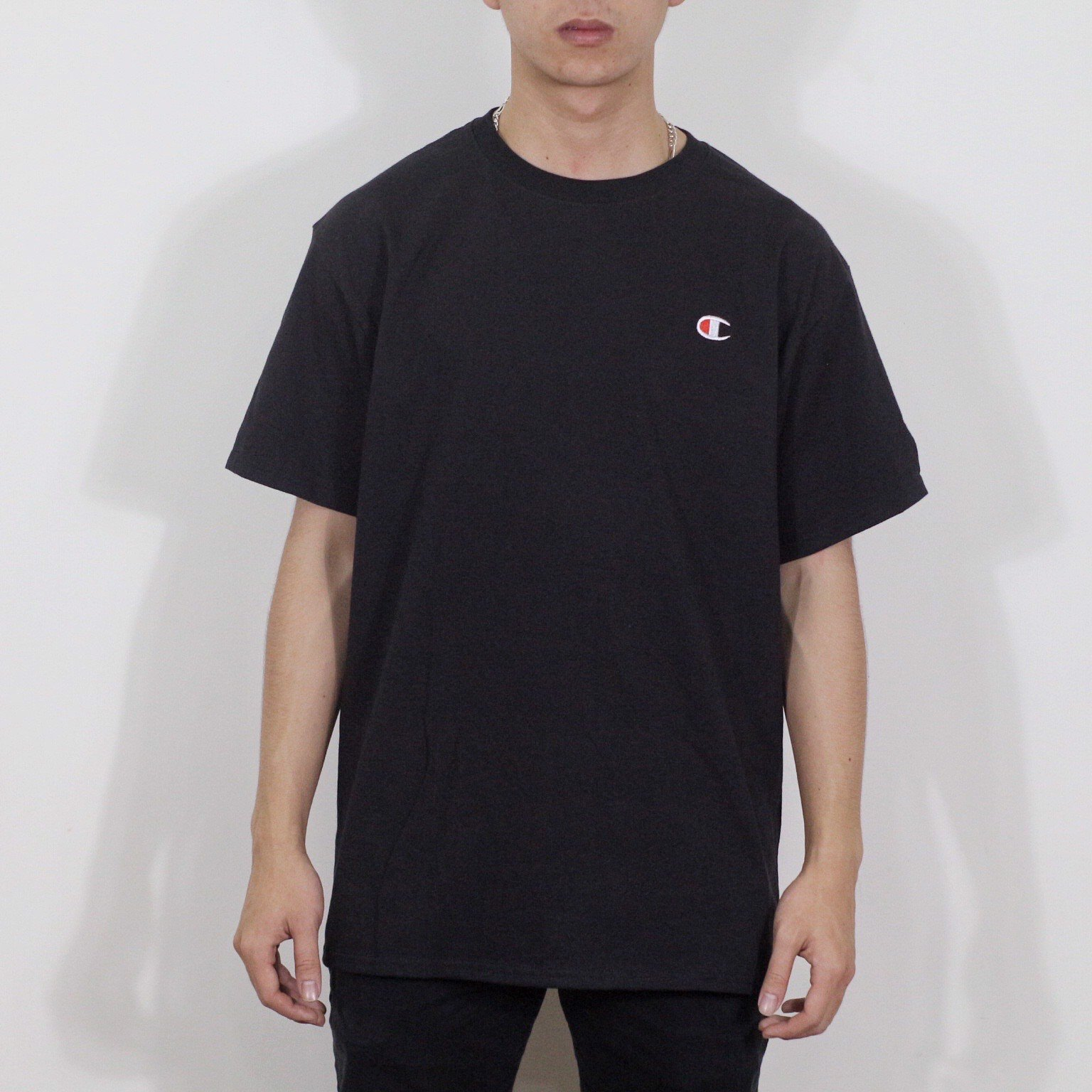 P100169 CHAMPION EMBROIDERED MINI C LOGO TEE