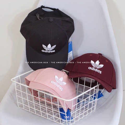 MŨ ADIDAS AUTHENTIC TREFOIL BASEBALL CAPS