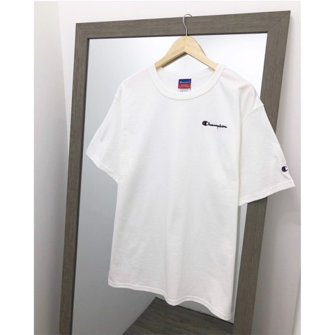 P100330 ÁO THUN CHAMPION HERITAGE EMBROIDERED MINI LOGO TEE AUTHENTIC (LOGO THÊU)