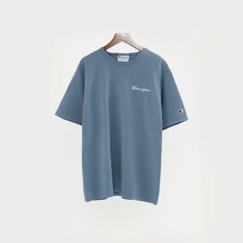 P100203 ÁO THUN CHAMPION GARMENT DYED 2020 MINI LOGO - SALTWATER