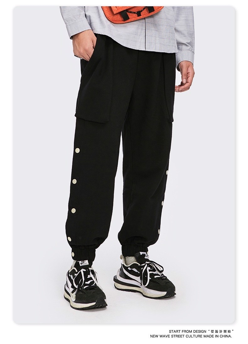 P100230 QUẦN JOGGER INFLATION AUTHENTIC BUCKLE JOGGER PANTS