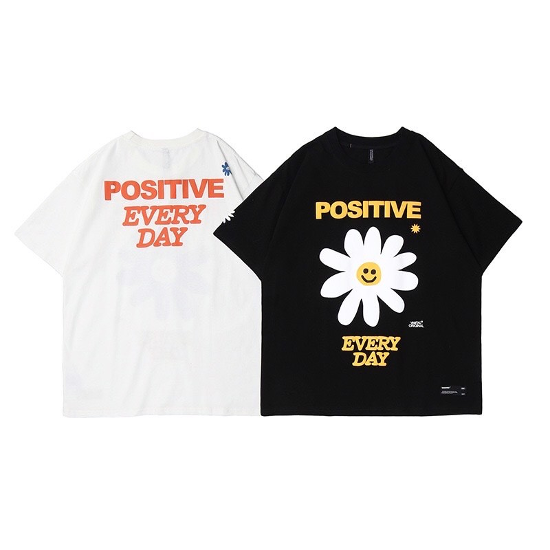 P100251 ÁO THUN TAY LỠ VAMTAC AUTHENTIC POSITIVE EVERYDAY