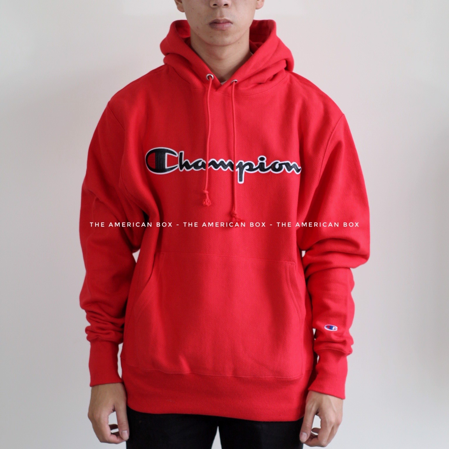P100162 ÁO CHAMPION AUTHENTIC REVERSE WEVE CHAINSTITCH HOODIE