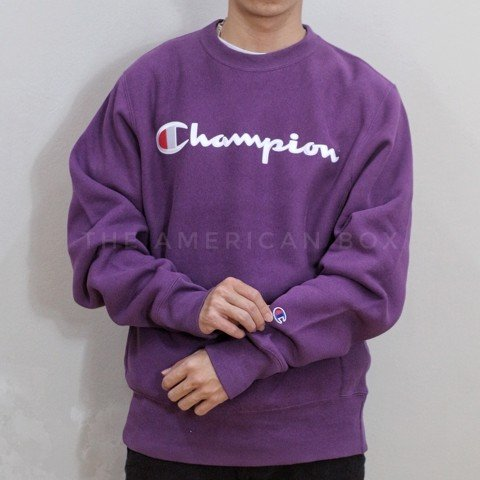 ÁO CHAMPION AUTHENTIC REVERSE WEVE CHAINSTITCH CREWNECK SWEATER