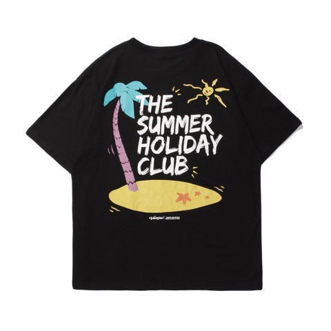 ÁO THUN TAY LỠ VAMTAC AUTHENTIC THE SUMMER HOLIDAY CLUB
