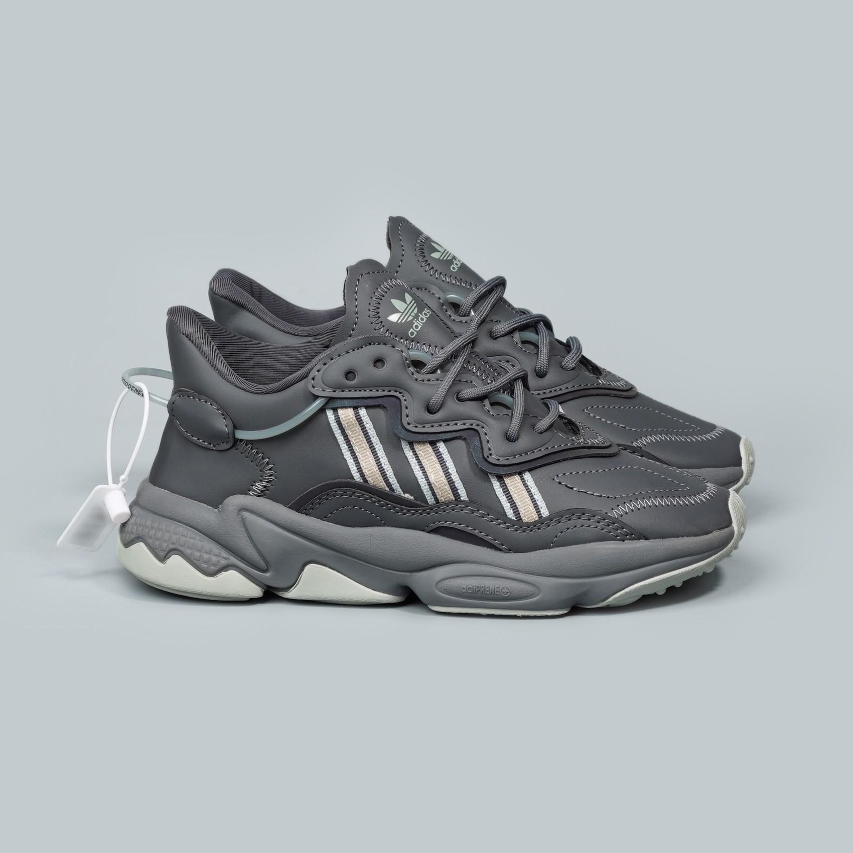 lanza inferencia campeón  Giày thể thao Adidas Falcon đế cao - Xám – Lạ Sneakers