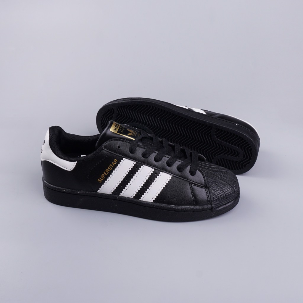 Giày thể thao Sneakers Superstar FullBlack SF