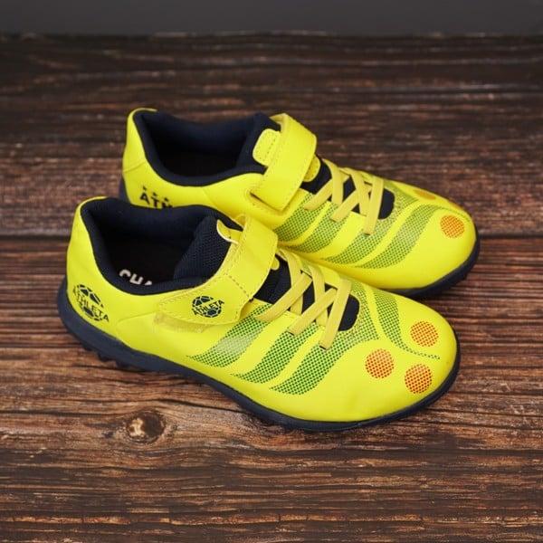 Giày đá bóng trẻ em Athleta - Vàng pha
