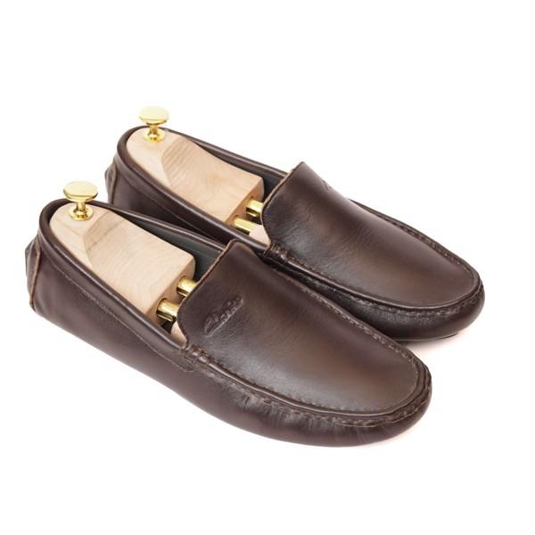 Giày lười công sở Clark dáng trơn - 6018