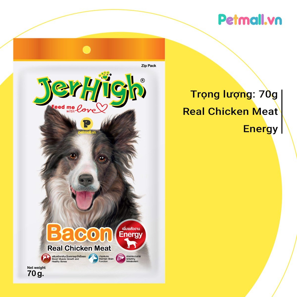Snack Jerhigh Bacon 70g
