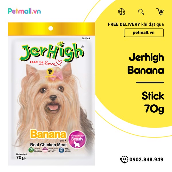 Snack Jerhigh Banana 70g