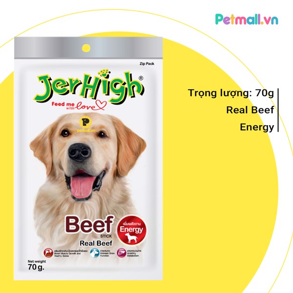 Snack Jerhigh Beef  70g