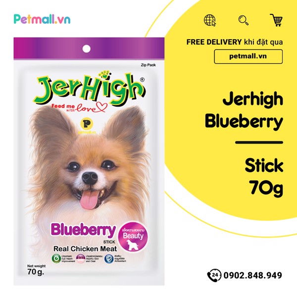 Snack Jerhigh Blueberry 70g