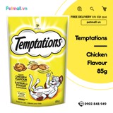 Snack mèo Temptations Tasty Chicken 85g