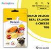 Snack Delicio REAL SALMON MEAT + CHEDDAR CHEESE 70g