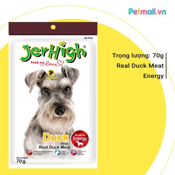 Snack Jerhigh Duck 70g