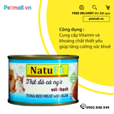 Pate Mèo Natufit Tuna with Agar 160g