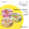 Combo Pate OptiOne 3 Vị - 24 Lon