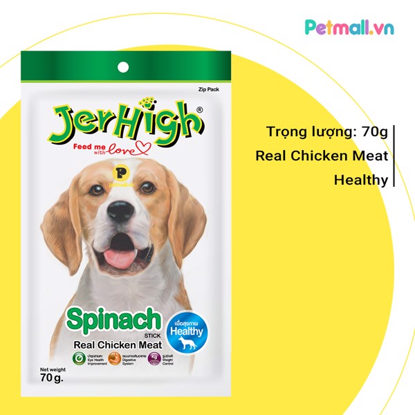 Snack Jerhigh Spinach 70g