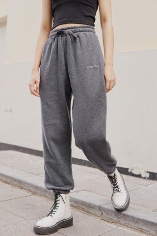 """SPREAD LOVE"" Jogger Pants (Dark Grey)"